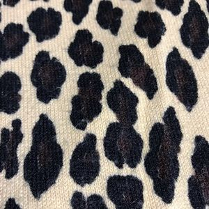 Cato Sweaters - Cato Women's Leopard Print Pattern Sweater